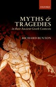 Cover for Myths and Tragedies in their Ancient Greek Contexts