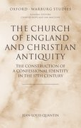 Cover for The Church of England and Christian Antiquity