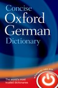 Cover for Concise Oxford German Dictionary