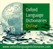 Cover for Oxford Language Dictionaries Online