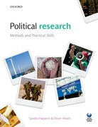 Cover for Researching Politics