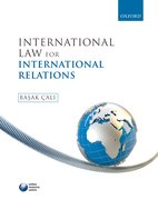 Cover for International Law for International Relations
