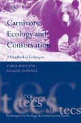 Cover for Carnivore Ecology and Conservation