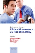 Cover for An Introduction to Clinical Governance and Patient Safety