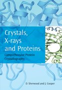 Cover for Crystals, X-rays and Proteins