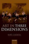 Cover for Art in Three Dimensions