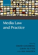 Cover for Media Law and Practice