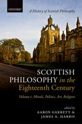 Cover for Scottish Philosophy in the Eighteenth Century