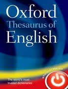 Cover for Oxford Thesaurus of English |s au