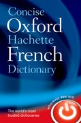 Cover for Concise Oxford-Hachette French Dictionary