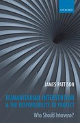 Cover for Humanitarian Intervention and the Responsibility To Protect