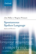 Cover for Spontaneous Spoken Language