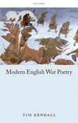Cover for Modern English War Poetry