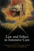 Cover for Law and Ethics in Intensive Care