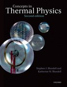 Cover for Concepts in Thermal Physics