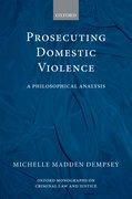 Cover for Prosecuting Domestic Violence
