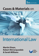 Cover for Cases and Materials on International Law