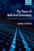 Cover for The Theory of Multi-Level Governance