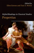 Cover for Oxford Readings in Propertius