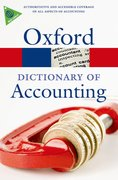 Cover for A Dictionary of Accounting