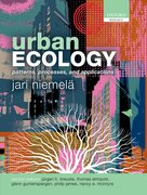Cover for Urban Ecology