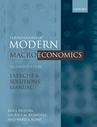 Cover for Exercise and Solutions Manual to Accompany Foundations of Modern Macroeconomics, Second Edition
