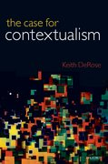 Cover for The Case for Contextualism