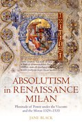 Cover for Absolutism in Renaissance Milan