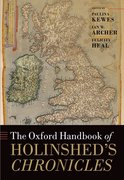 Cover for The Oxford Handbook of Holinshed