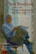 Cover for Tom Bingham and the Transformation of the Law