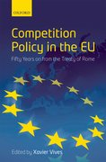 Cover for Competition Policy in the EU
