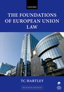 Cover for The Foundations of European Union Law