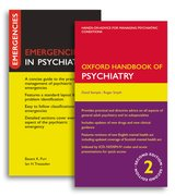 Cover for Oxford Handbook of Psychiatry and Emergencies in Psychiatry Pack