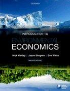 Hanley, Shogren & White: Introduction to Environmental Economics 2e