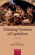 Cover for Debating Varieties of Capitalism