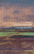 Cover for Leadership: A Very Short Introduction