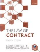 Koffman & Macdonald: The Law of Contract 7e