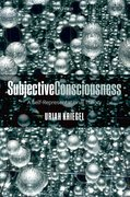 Cover for Subjective Consciousness