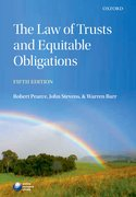Cover for The Law of Trusts and Equitable Obligations