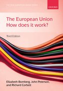 Bomberg, Peterson & Corbett: The European Union How Does it Work? 3e