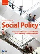 Baldock et al: Social Policy 4e