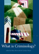 Cover for What is Criminology?