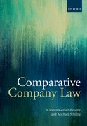 Cover for Comparative Company Law