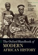 Cover for The Oxford Handbook of Modern African History