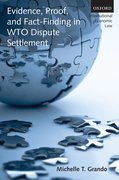 Cover for Evidence, Proof, and Fact-Finding in WTO Dispute Settlement