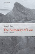 Cover for The Authority of Law