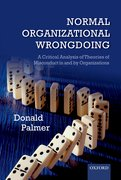 Cover for Normal Organizational Wrongdoing
