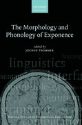 Cover for The Morphology and Phonology of Exponence