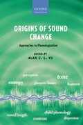 Cover for Origins of Sound Change