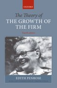 Cover for The Theory of the Growth of the Firm